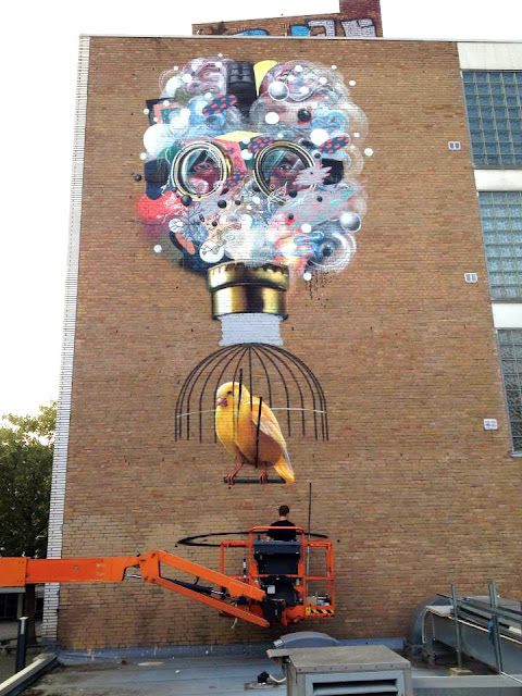 Colin Van Der Sluijs at Work In Heerlen, Netherlands 2
