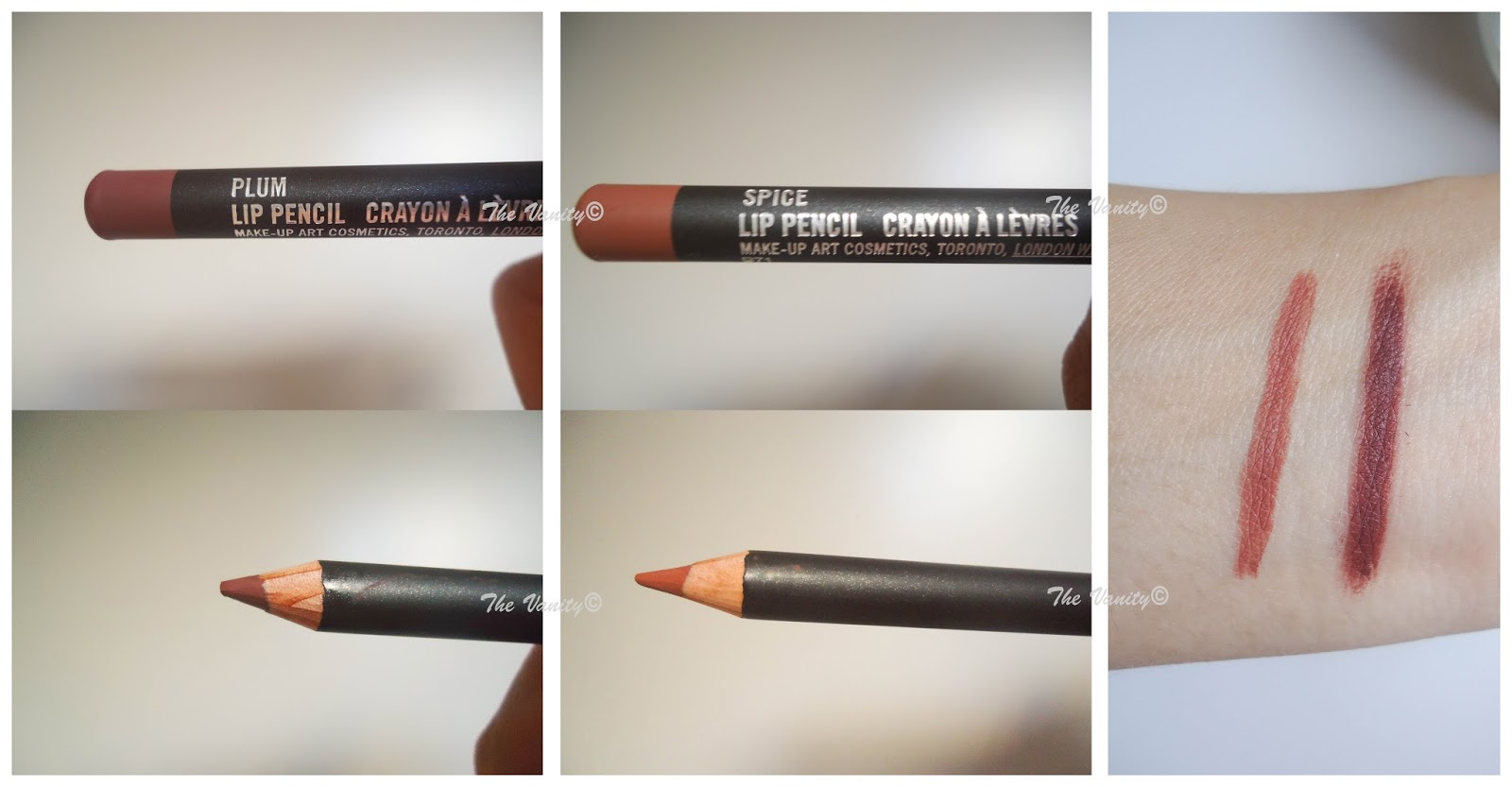 Exceptionnel M.A.C lip liner in Plum and Spice review | The Vanity SO47