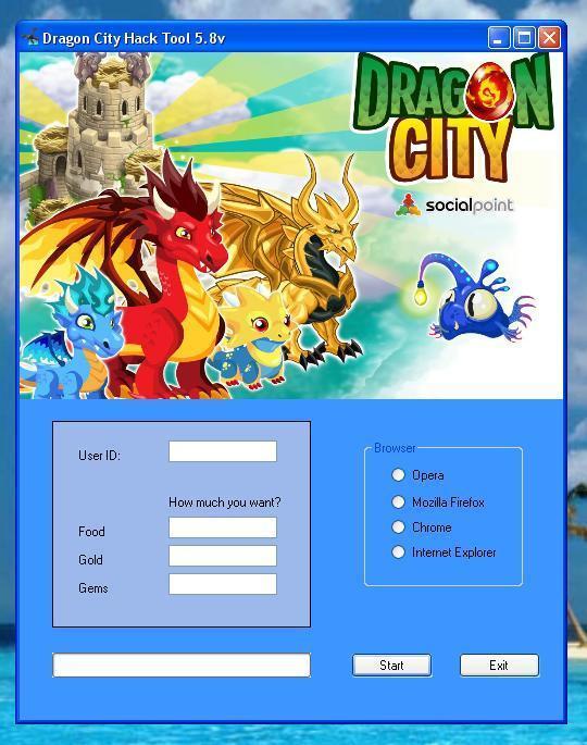 dragon city free gems hack no survey