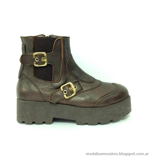 Zapatos, botas y botinetas invierno 2014. Moda 2014.
