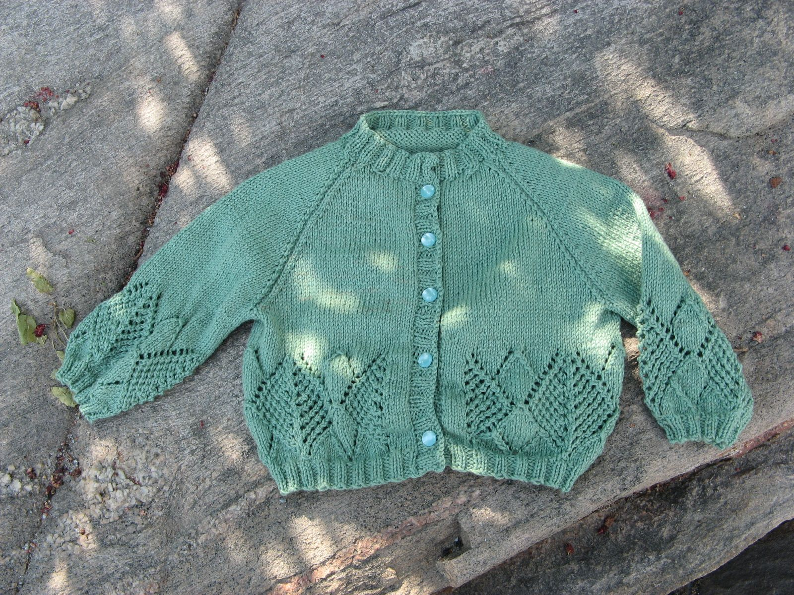 One More Stitch: Semi-Historical Summer Knitting