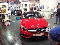 Mercedes-Benz A45 AMG mit Leistungsteigerung auf 400 PS von mcchip-dkr und Alus von MB Design