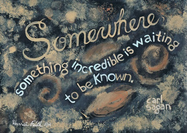 Hand Lettering, Art, Dreams, Pay Attention To Your Dreams, Science, Deep Space, Carl Sagan, Inspiration, Quotes