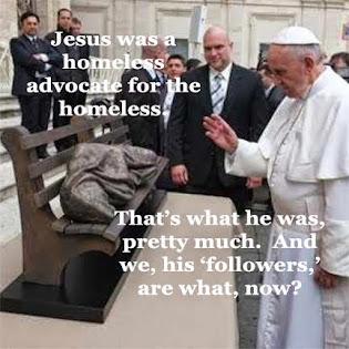 Jesus - Homeless Homeless Advocate