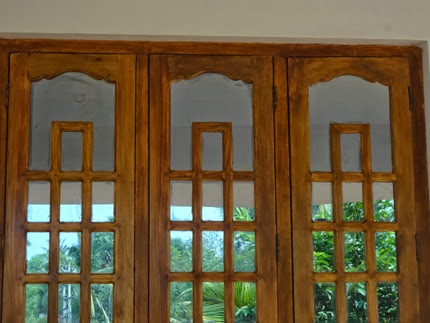 Wood Window Frame