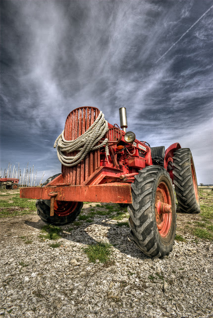 photo hdr engin, hdr tracteur, photo hdr fabien monteil