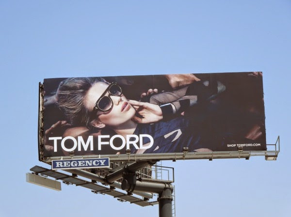 Tom Ford Eyewear June 2014 billboard
