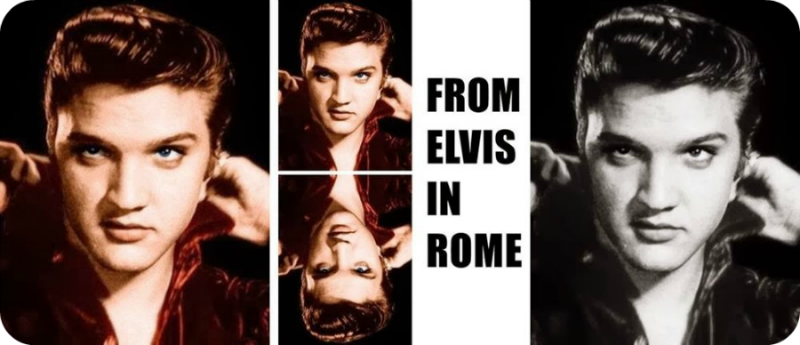 FROM ELVIS IN ROME