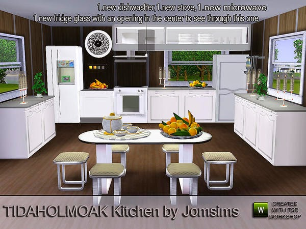 Kuchyn our the sims 3 4 for Sims 2 kitchen ideas