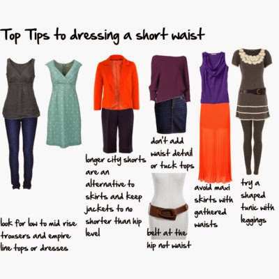 short waist dressing tips