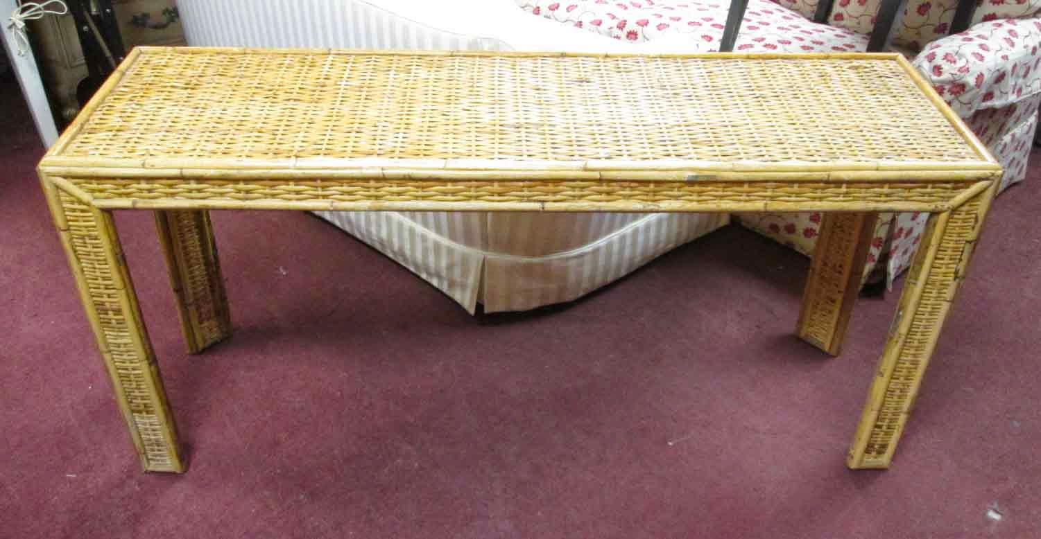 Uhuru furniture collectibles sold rattan sofa table 65 for 65 sofa table