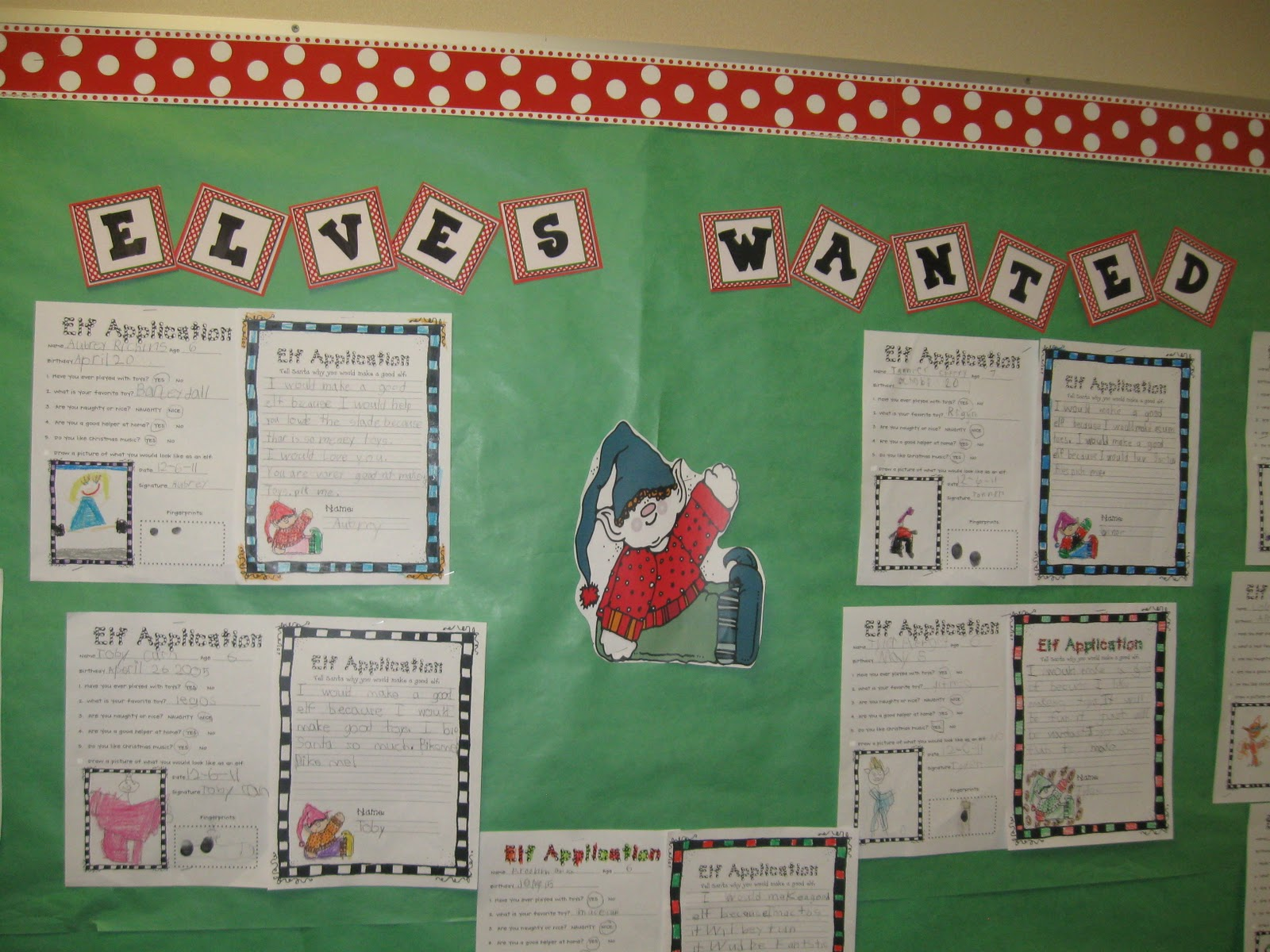 What the Teacher Wants!: Elves wanted!