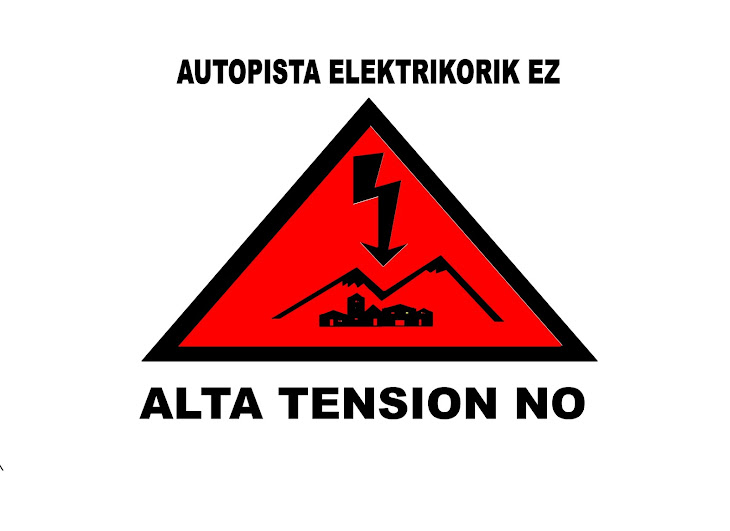 no linea de alta tension
