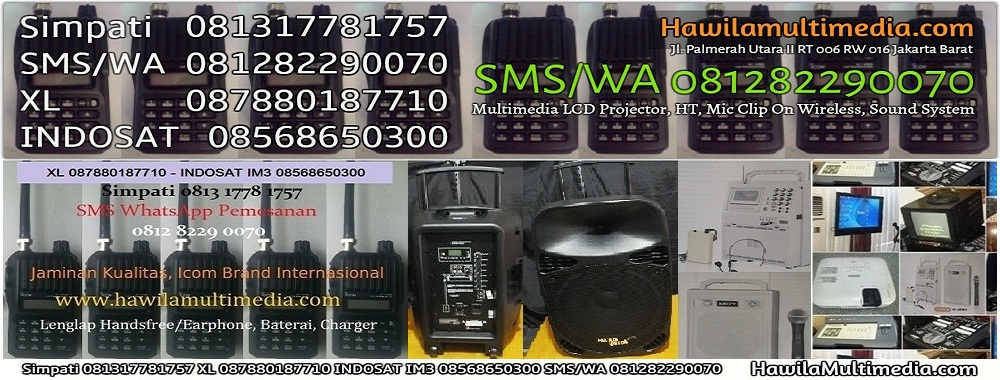 Media Komunikasi Sewa LCD Projector Infocus HT Handy Talky