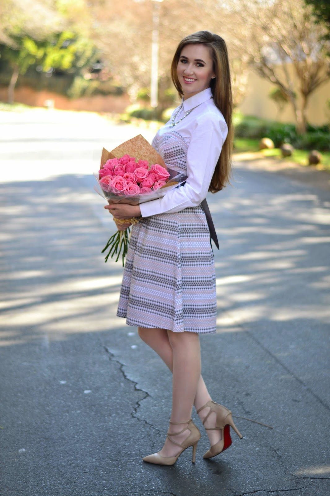Sunday Best outfit style florals roses