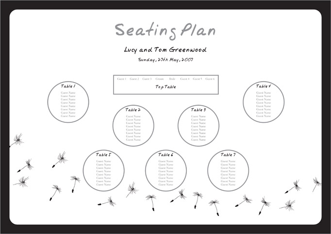 Doc400312 Word Table Templates Free Word Table Template – Seating Plan Template Word