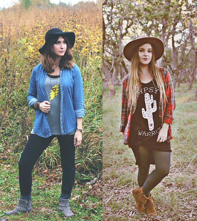 My Minnentonka: One Style, Two Ways // Bubby and Bean