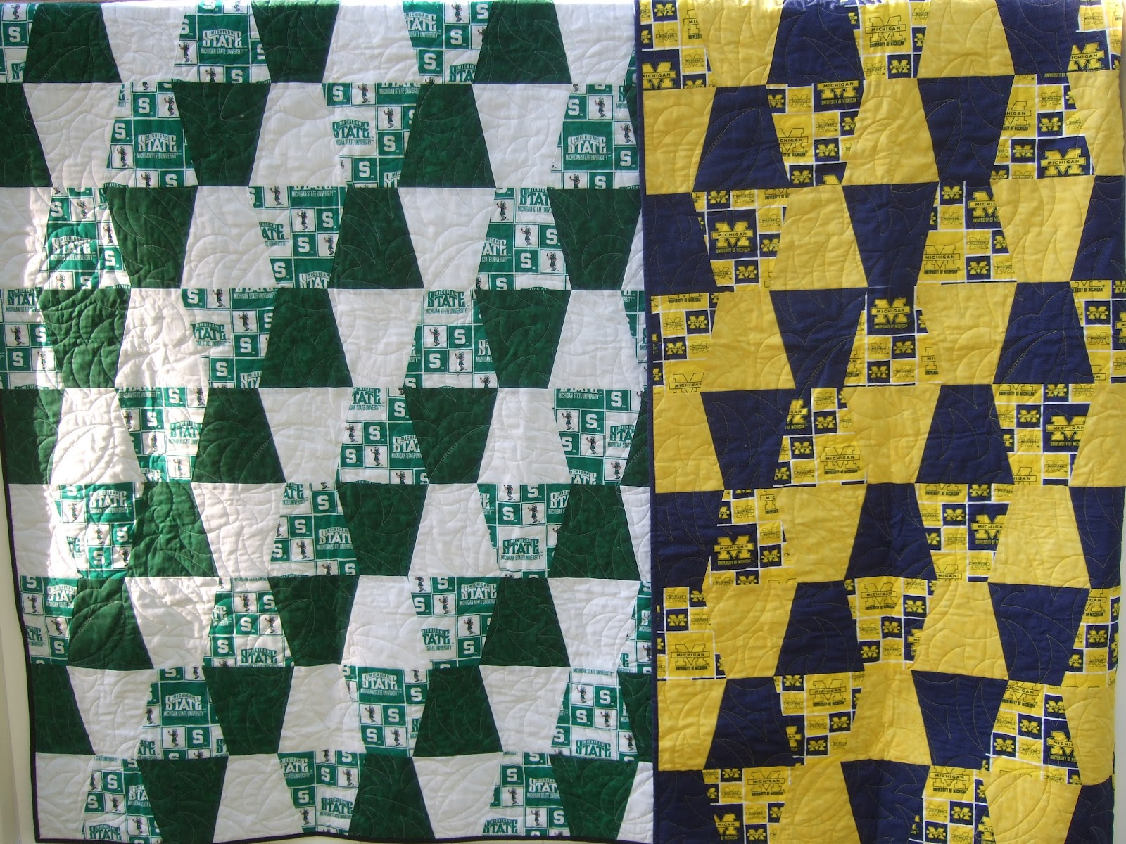 Mama Spark's World: 100 Quilts For Kids : michigan quilts - Adamdwight.com