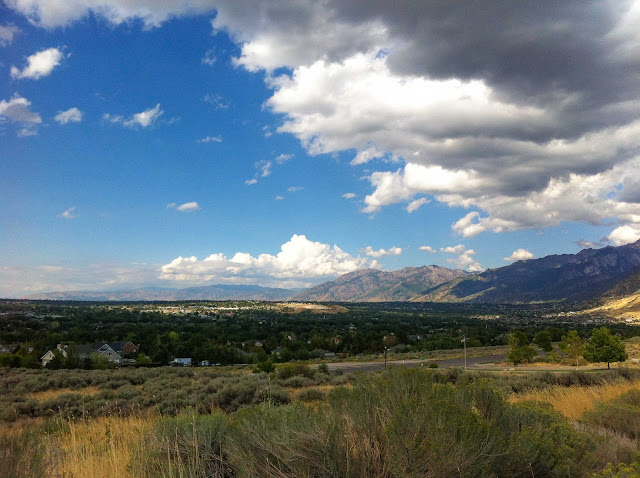 view of salt lake valley