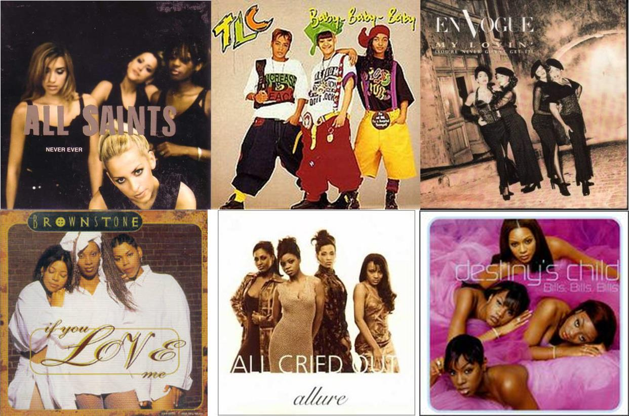 Time To Continue Our Fun Sunday Blogs With A Look Back Great Little List The Top 20 Songs From RB Girl Groups Of 90s