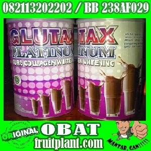 GLUTAX PLATINUM ORIGINAL [082113202202] Susu Pemutih Badan