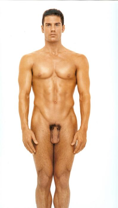 мужик стоя голый фото
