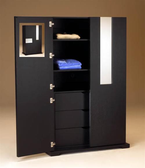 Ideas de dise o de armarios para un dormitorio moderno for Disenos de closets sencillos