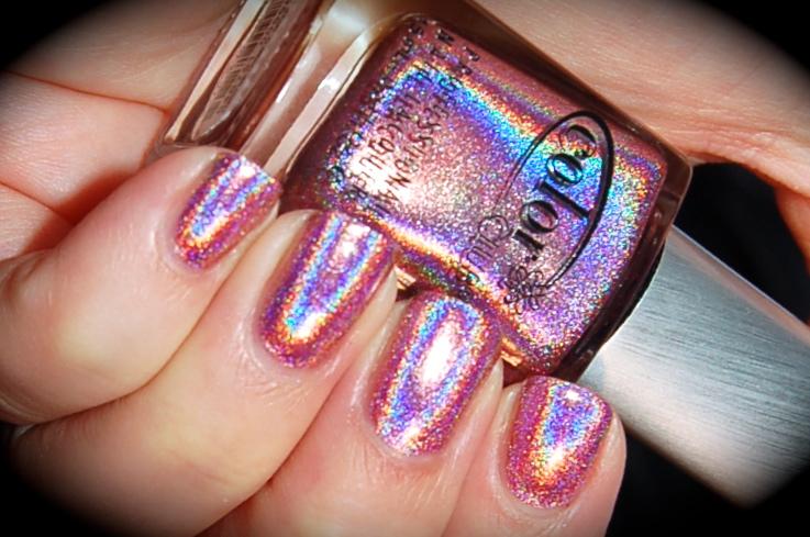 Swatch of Color Club Miss Bliss, Color Club Halo Hues 2013,blog, nail polish, blogg nagellack