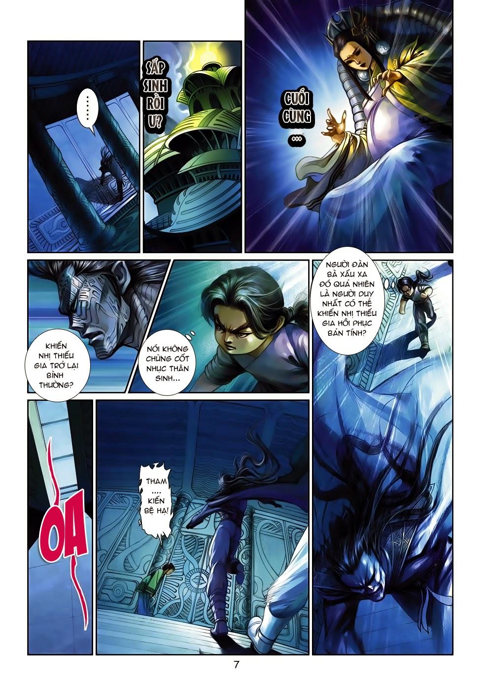 Thần Binh Tiền Truyện 4 - Huyền Thiên Tà Đế chap 14 - Trang 7