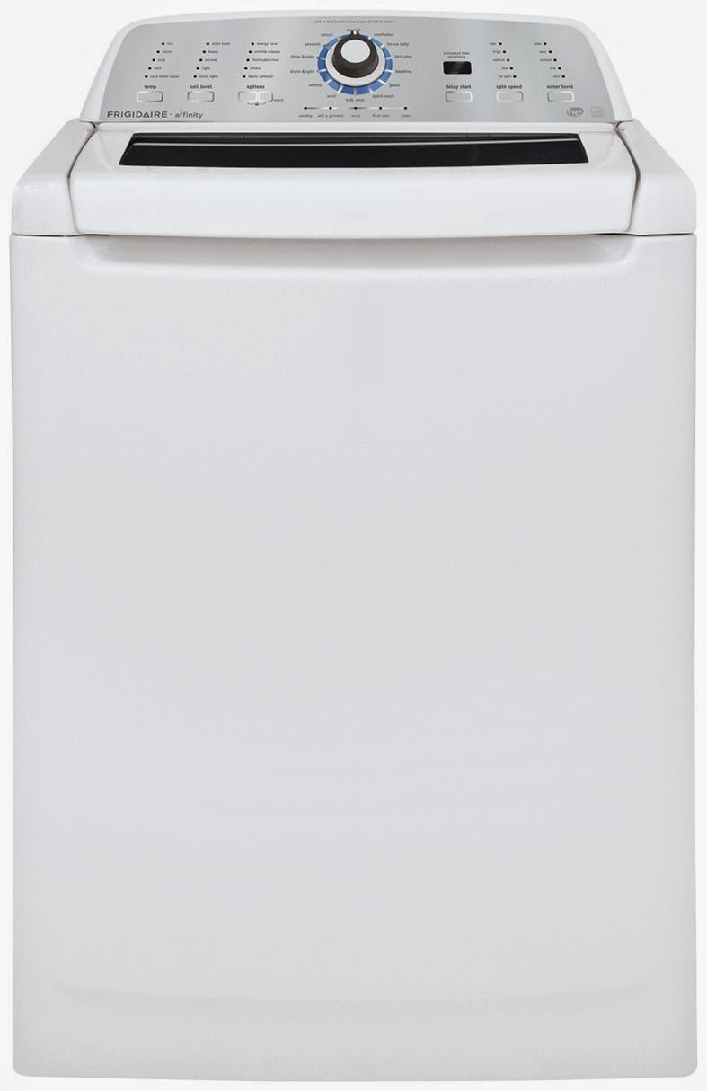 The best top load washer on the market - White Frigidaire Affinity High Efficiency Top Load Washers