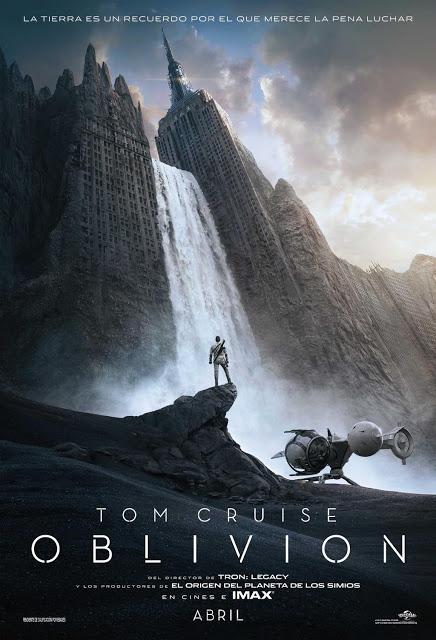 Poster español de Oblivion... con Tom Cruise