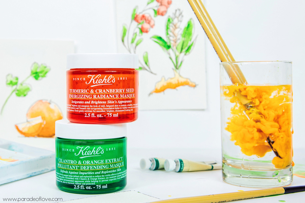 Kiehl's NEW masques