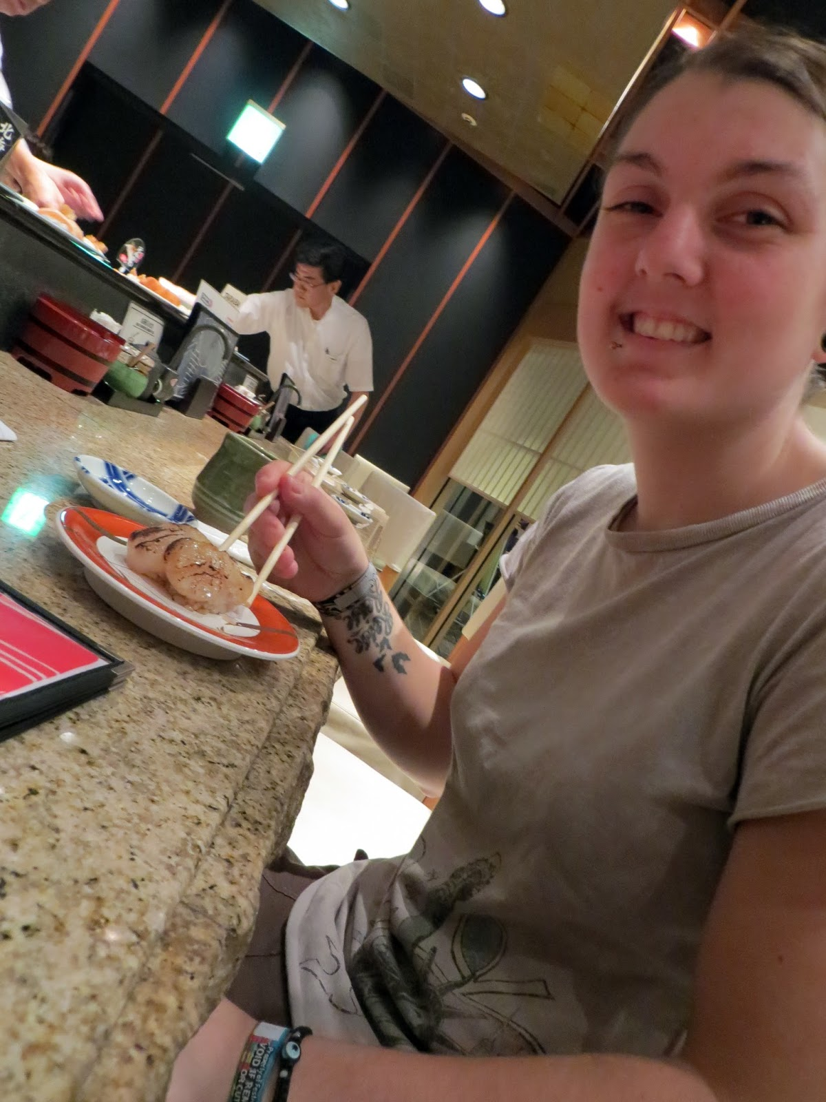 Sushi, must do tokyo, Japan