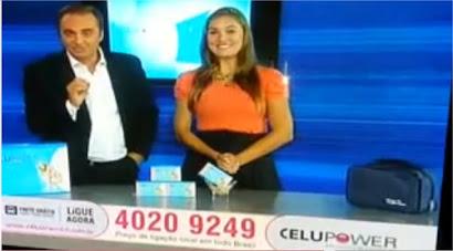 Renata Palis apresenta Celupower  Cidade Alerta