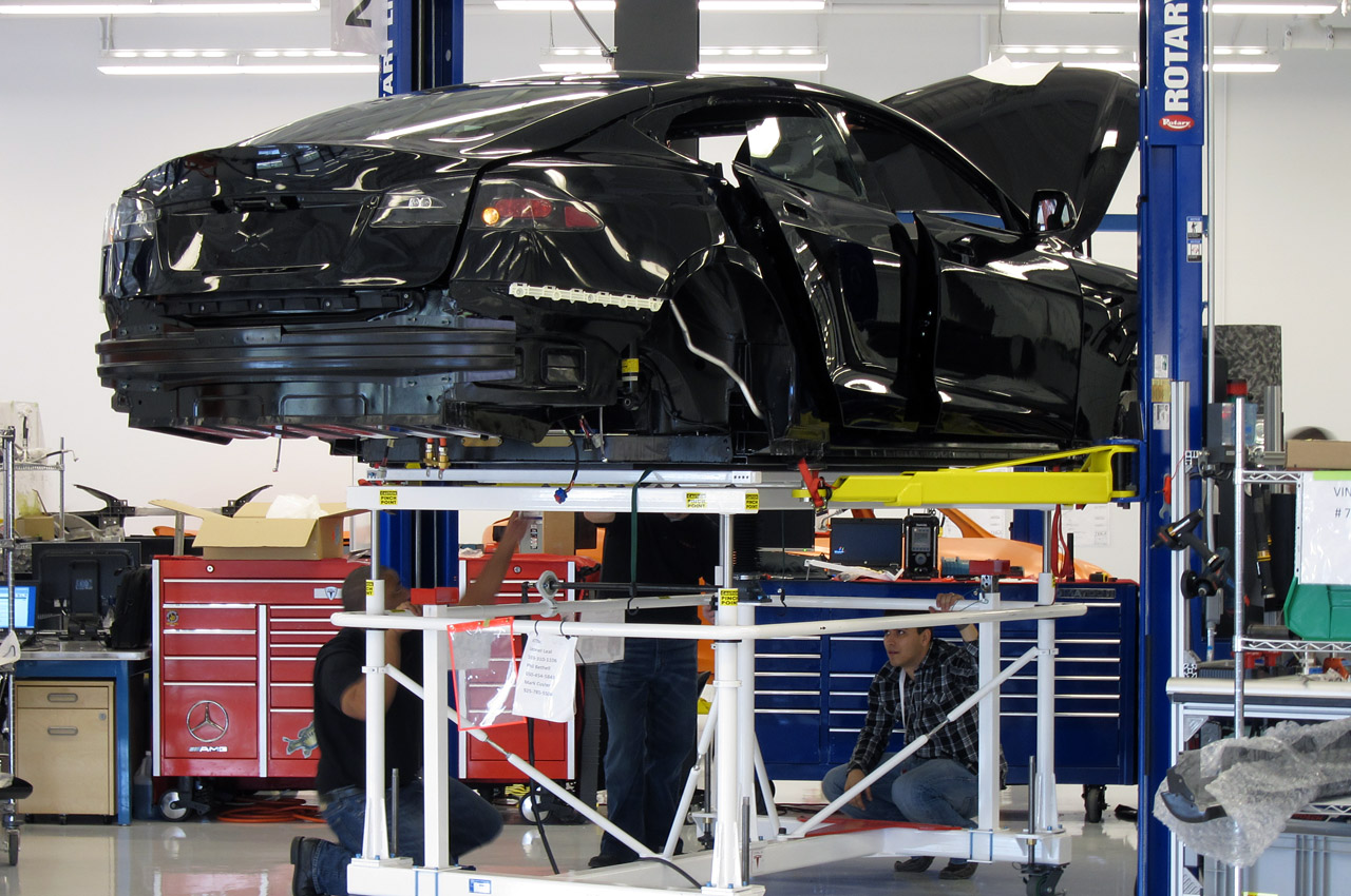 tesla model s assembly plant facilities
