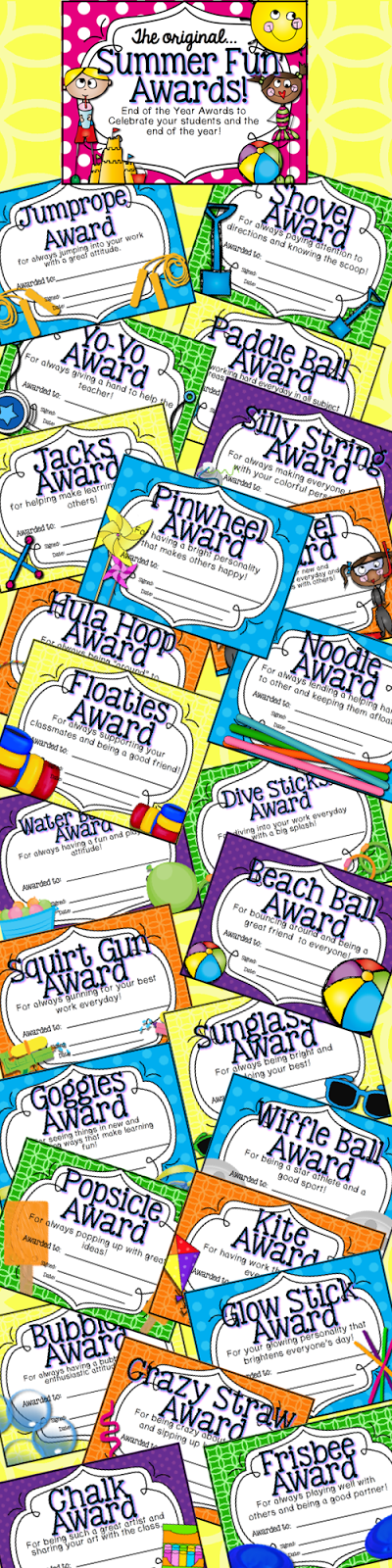http://www.teacherspayteachers.com/Product/End-of-the-Year-Awards-Summer-Fun-Theme-259726