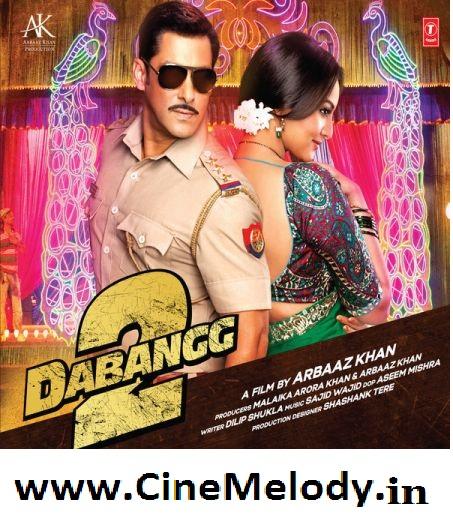 Dabangg 2  Hindi Mp3 Songs Free  Download -2012