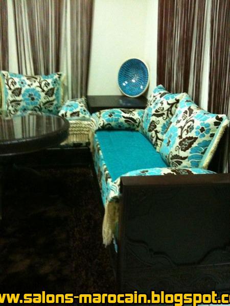 Decoration Salon Bleu Turquoise. Fabulous Decoration Salon Turc ...