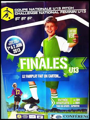 finale de la Coupe Nationale U13