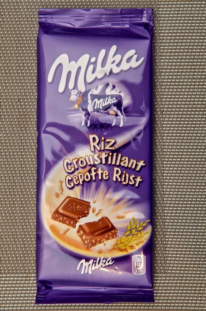 Gateau au chocolat milka riz