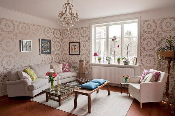 Contoh Wallpaper Ruang TamuDesain Interior Ruangan | Desain Interior ...