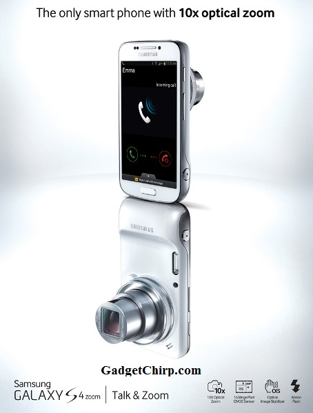 Samsung Galaxy S4 Zoom : Full Specs and Features