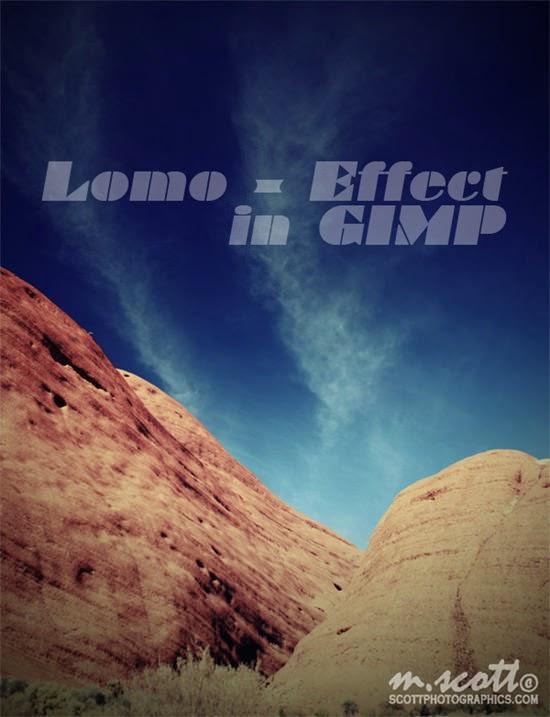 photograph Lomographic in GIMP