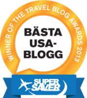 Winner of Swedish Travel Blog Awards