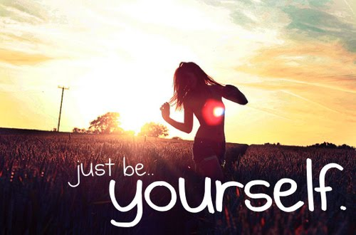 BE YOURSELF LOVING YOURSELF