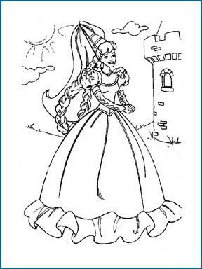 Free Barbie Coloring Pages