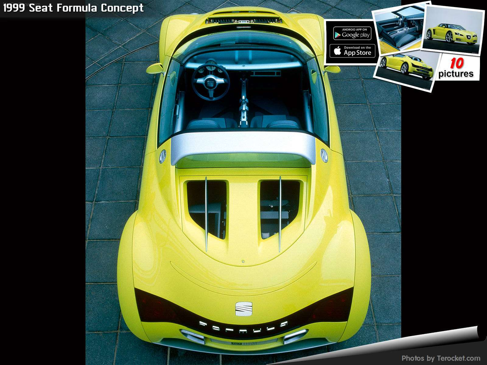 Hình ảnh xe ô tô Seat Formula Concept 1999 & nội ngoại thất