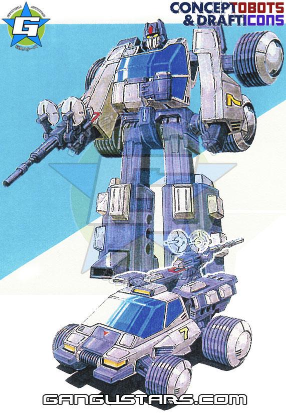 Transfomers Targetmaster Crosshairs ConceptDraft, Japanese Robots, Transformers, prototypes, robots, ダイアクロン, トランスフォーマー, タカラ, hasbro