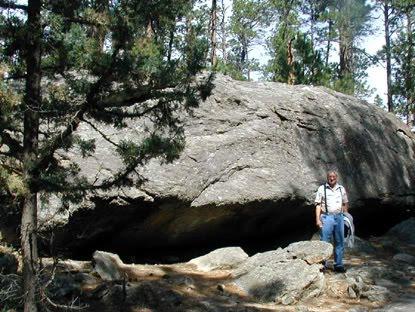 That's a big rock, ain't it?