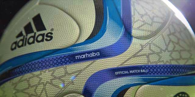 Marhaba Adidas 2015 Orange Africa Cup official ball